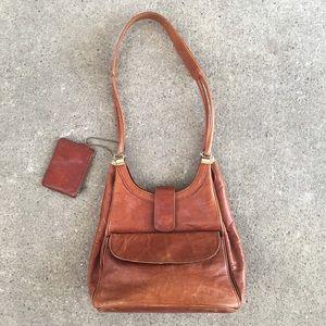 Handbags - 🆕 Listing!  Vintage | Leather Shoulder Bag